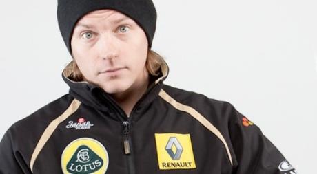 Kimi Raikkonen at Renault-Lotus
