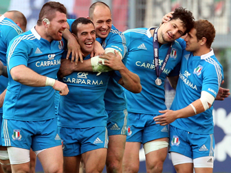 Italy Ireland Rubgy Six Nations