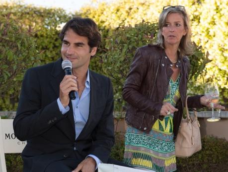 Federer Moet tagliata