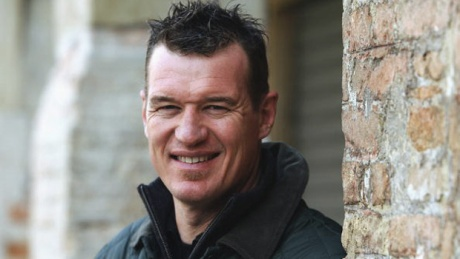 A portrait of John Kirwan the former New Zealand wing and present Italian national rugby union coach