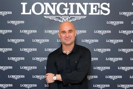 Longines & Andre Agassi 05/11/2013 Milano