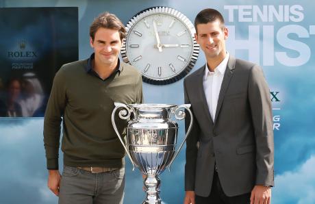 Federer e Nole tagliato