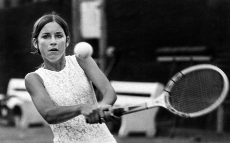 3/7/71 - Chris Evert. (Pat Canova / The Palm Beach Post)