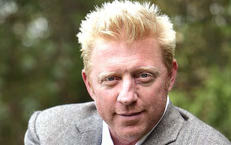 BORIS BECKER 25 YEARS AFTER HIS FIRST WIMBLEDON WIN AS A 17-YEAR-OLD, LONDON SW19 06/05/10